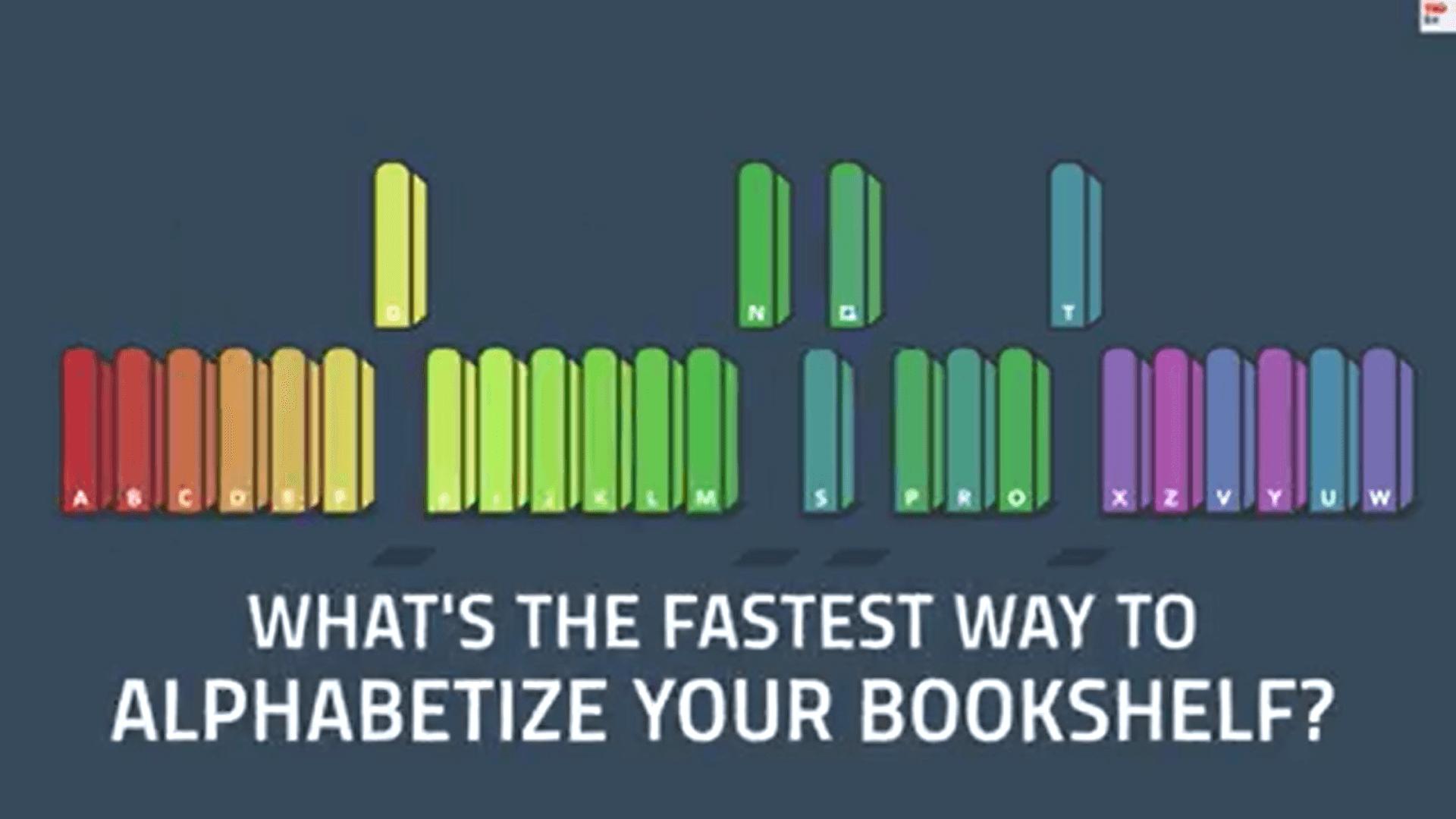 如何快速排序你的書櫃?五分鐘就學會!