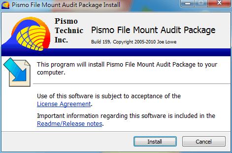 免燒錄、免解壓縮,快速掛載ISO、ZIP...:Pismo File Mount Audit Package
