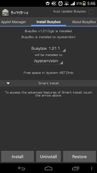 為 Android 手機取得 BusyBox,讓手機能夠執行更多指令
