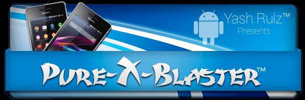 Pure-X-Blaster™ - 14.1G.2.257:Xperia V 也能享用 Honami 的各種功能