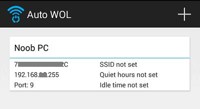 WOL 實錄,透過 Android 手機遠端喚醒電腦