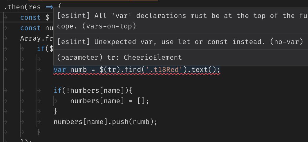 ESLint:檢查 Code Style 的好工具