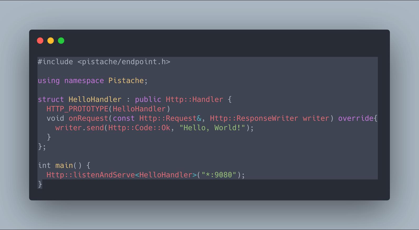 Pistache:用 C++ 寫 RESTful API Server