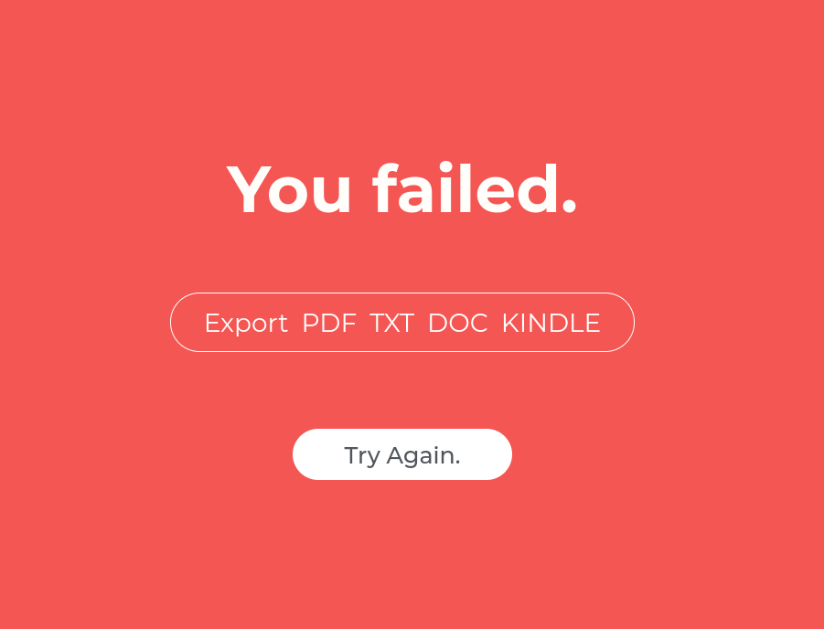 you_failed