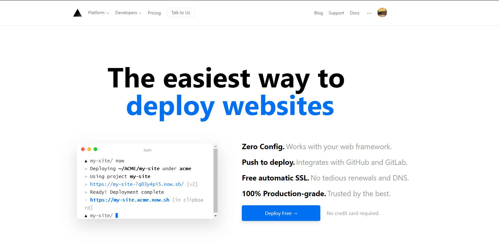 Now:在雲端部屬你的網站、後端功能