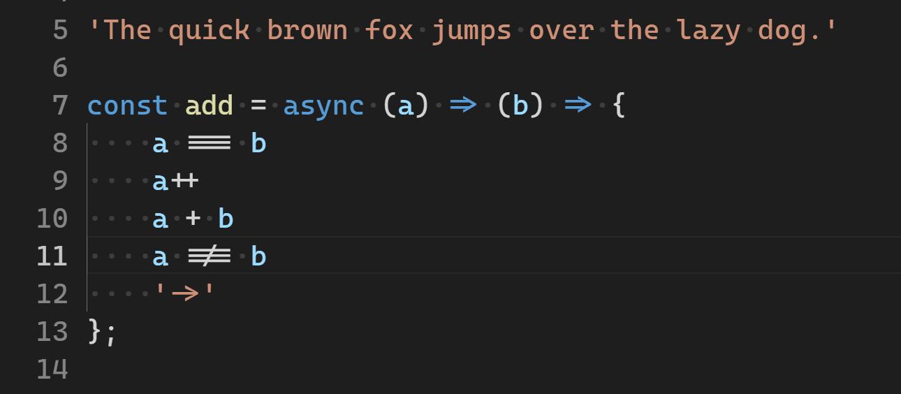 Cascadia Code:又一個適合寫程式的連字字型