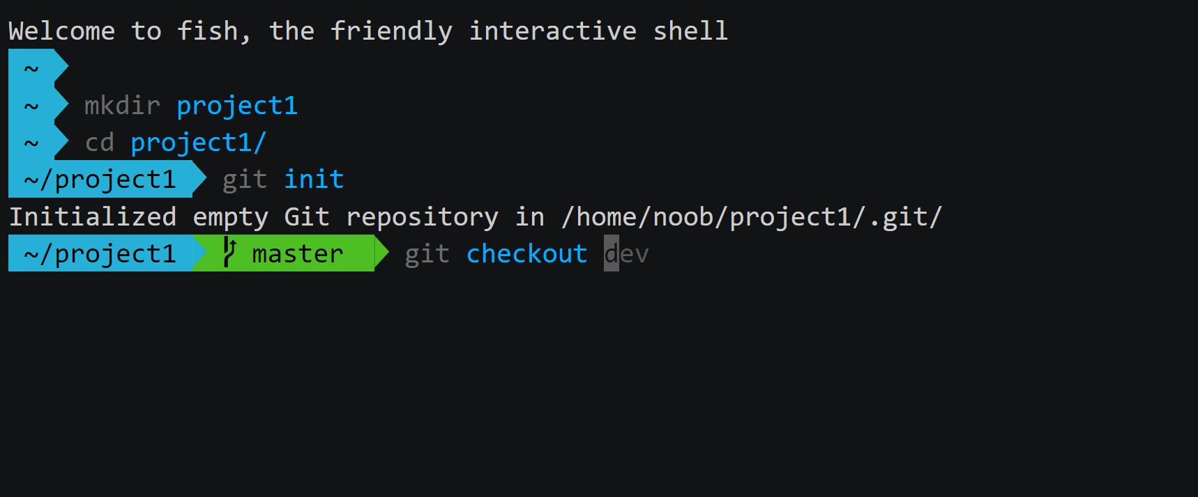 Fish shell:讓指令更接近懶人使用