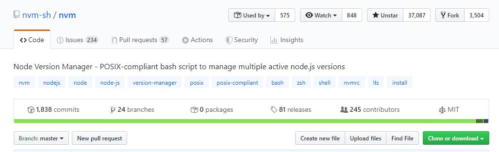 nvm:快速安裝、切換不同版本的 Node.js