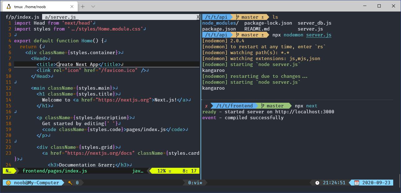 Tmux 的使用情境:遠端訓練 AI 不停機、邊寫程式邊除錯
